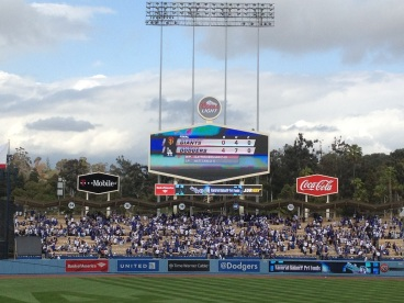 A Dodger win is ALWAYS sweet, but against the Giants its EVEN sweeter!!! GO DODGERS!!!