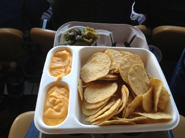 Dodger Stadium Nachos......ONLY the bestest thing there! (I ate a Dodger Dog too but ran out of battery on my phone so no pic!)